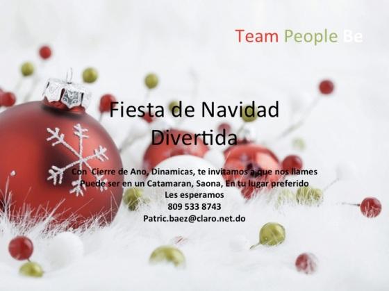Fiesta de Navidad- Super Divertida Kick Off 2014